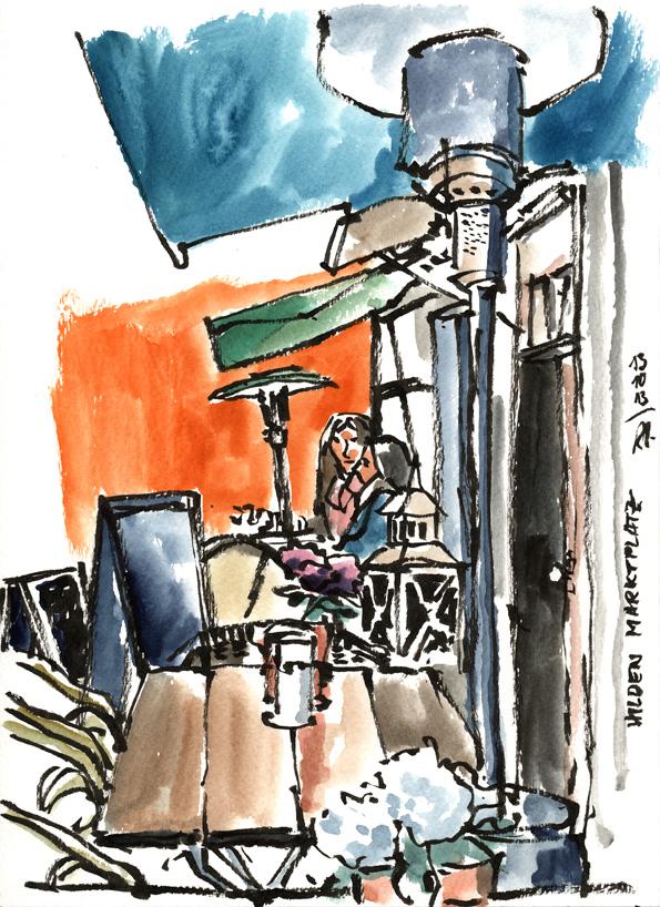 13-10-13_Hilden Marktplatz