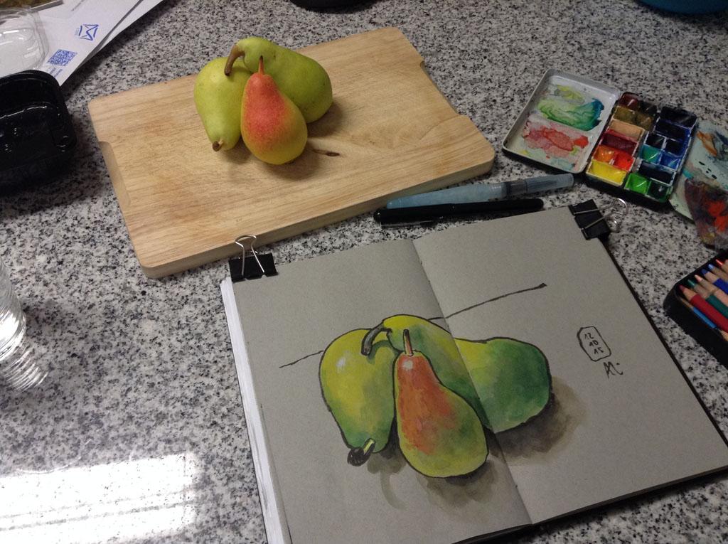 drei Birnen-