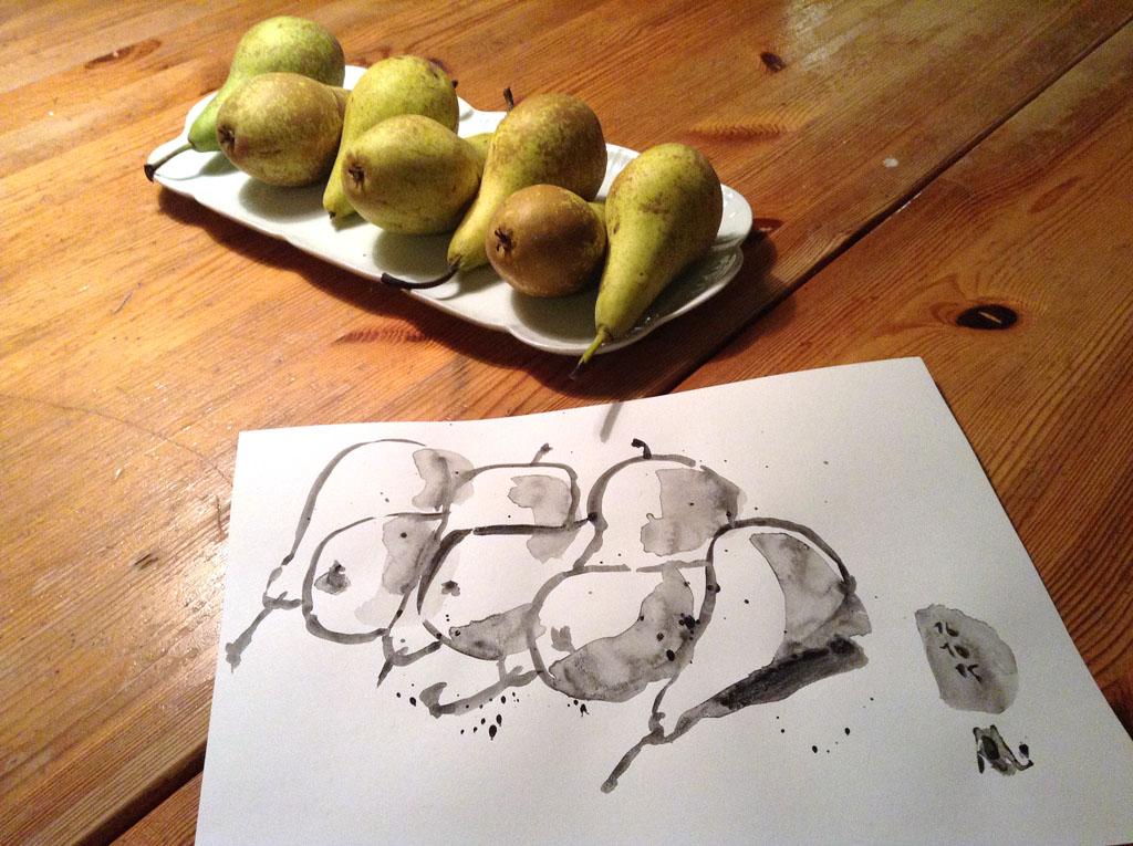 sieben Birnen-